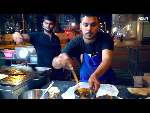 Indian Street Food - SINGAPORE Downtown
