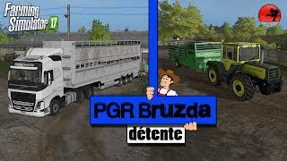 Farming Simulator 17 |  | Détente | PGR Bruzda | On s'occupe du bétail !
