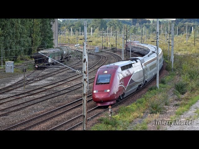 Thalys TGV PBKA - Rame n° 4307