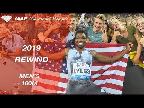 Men's 100m - IAAF Diamond League 2019