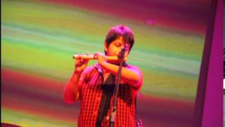 mere dholna sun - proma z majumder on flute