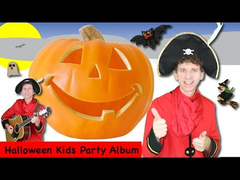 Halloween Kids Songs Party Album [ 37 Minutes ] 8 Halloween Songs from Dream English Kids