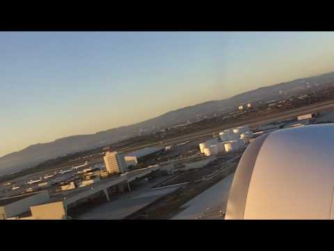 Los Angeles Take Off on Emirates.MOV