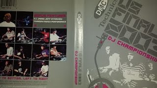 DMC Technics Turntablism US Finals 2003 DJ Championship Part 2