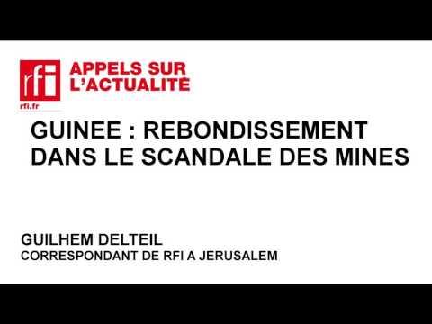 Guinée : rebondissement dans le scandale des mines