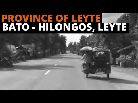 [Leyte Travel Guide] Province of Leyte | Traveling | Bato, Leyte to Hilongos, Leyte | Tricycle Ride