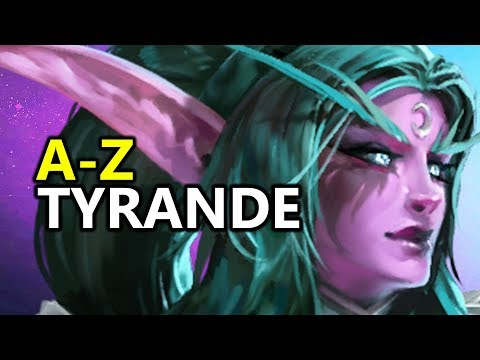 ♥ A - Z Tyrande - Heroes of the Storm (HotS Gameplay)