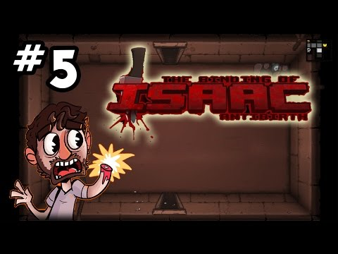 🗣🎙 Antibirth ANNOUNCER! 🗣🎙 - Let's Play Binding of Isaac ANTIBIRTH Gameplay - Episode 5