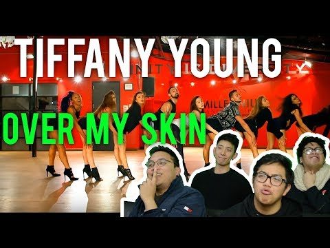 """TIFFANY YOUNG """"OVER MY SKIN"""" (Dance REACTION)"""