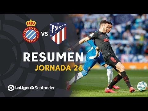 Espanyol Atletico Madrid Goals And Highlights