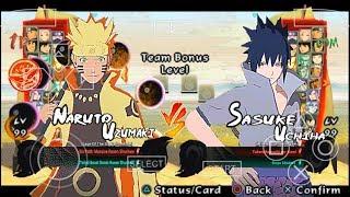 (Release)Naruto Ultimate Ninja Storm 4 Android(NSUNI PPSP Super Mod)