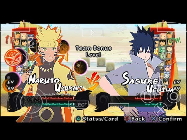 Naruto Impact Mod Storm 4 (V1) Ppsspp Android #1