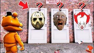 WHICH HORROR DOOR WILL ADVENTURE FREDDY CHOOSE? (GTA 5 Mods FNAF RedHatter)