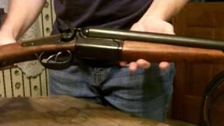 Replica Double Barrel Pistol- 1881 Street Howitzer- Denix