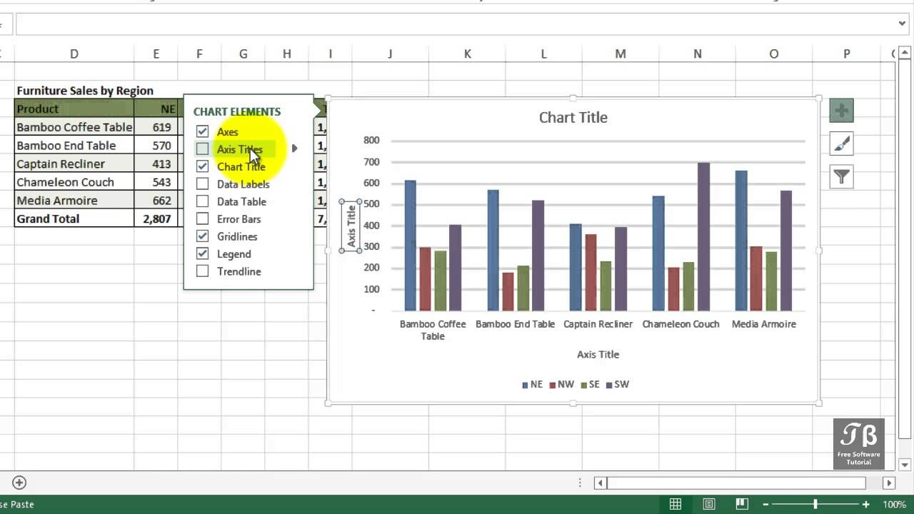 Exploring chart axes labels gridlines options excel 2013 exploring chart axes labels gridlines options excel 2013 beginners tutorial ccuart Choice Image