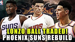 LONZO BALL TRADED! PHOENIX SUNS REBUILD! NBA 2K19 MY LEAGUE