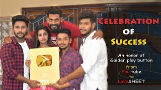 Unboxing NEW YouTube Gold Play Button (1 Million Subscribers) | Thank You For Your Love & Support