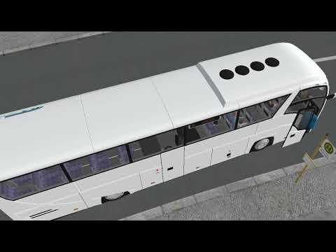 Поездка-на-автобусах-МАЗ-251+ПАЗ-32053-Рестайлинг