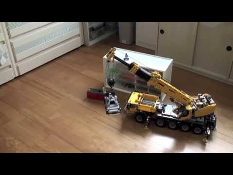lego technic mobile crane mk ii 42009 instructions
