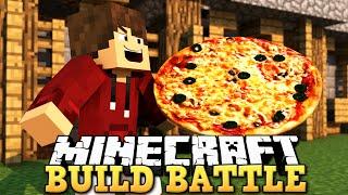 MELHOR PIZZA DE TODAS! - BATALHA DE CONSTRUÇÕES (Minecraft Build Battle)