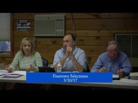 Board of Selectmen Meeting, 5/10/2017
