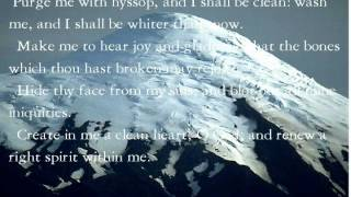 Psalm  for the soul-Psalms 51
