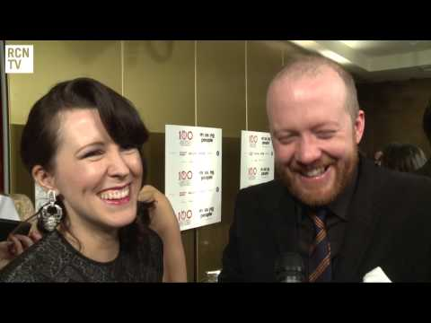 Sightseers Alice Lowe & Stever Oram Interview - London Critics' Circle Awards 2013