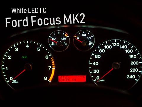 D.I.Y. Ford Focus 2 LED DASH White Change Soldering SMD (video-tutorial)