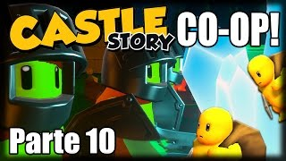 Castle Story Co-Op Multiplayer - Parte 10 - Teleportando e Batendo Recordes!