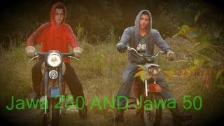 Jawa 250 & Jawa 50 pionier (Jazda)