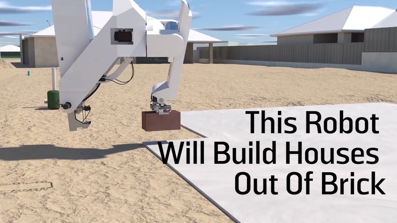 This Robot Will Build Houses Out Of Brick