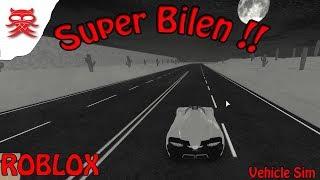 Super Car-Vehicle Simulator-English Roblox