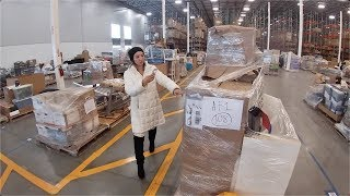 We Bought 8 PALLETS At Auction - UNBOXING First Two!