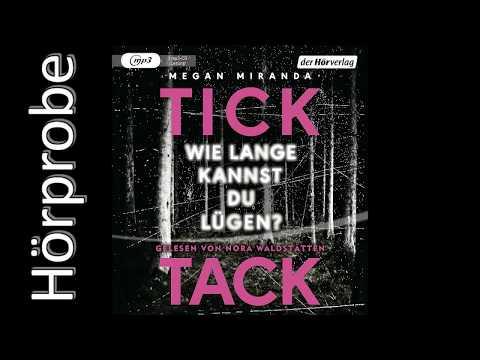 TICK TACK: Wie lange kannst du lügen? YouTube Hörbuch Trailer auf Deutsch