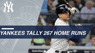 Video Yankees tally a record 267 home runs in 2018 download MP3, 3GP, MP4, WEBM, AVI, FLV November 2018