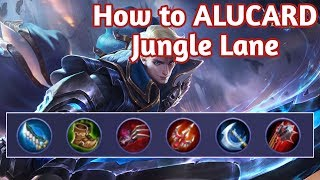 ALUCARD build Guide FOR BEGINNERS Jungle MOBILE LEGENDS | TUTORIAL | STRATEGY | BEST BUILD in 2019