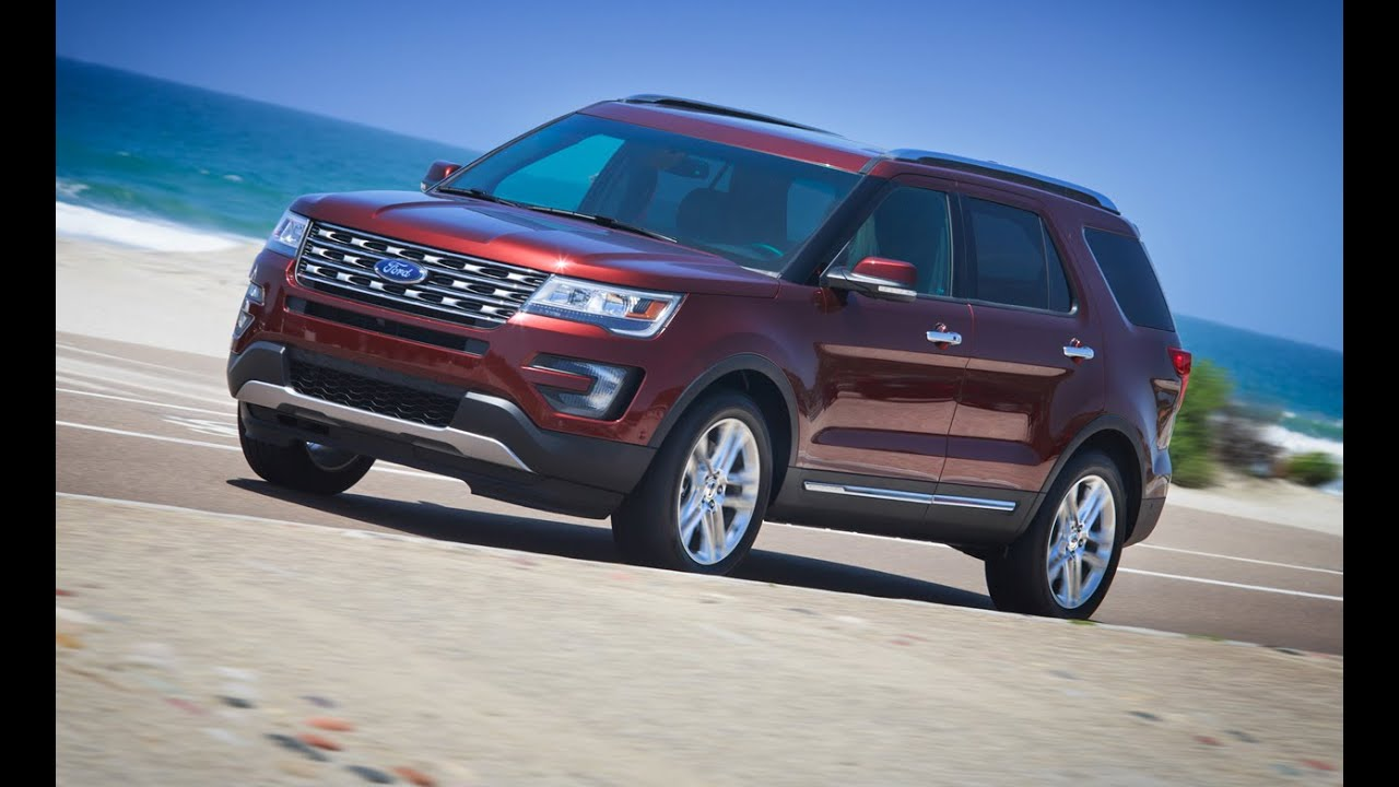 2016 Ford Explorer Specs Luxury Suv