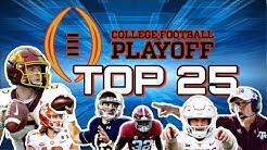 College Football Pre season Top 25 Rankings