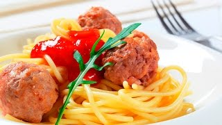 How to make spaghetti and meatballs recipe - Italian food