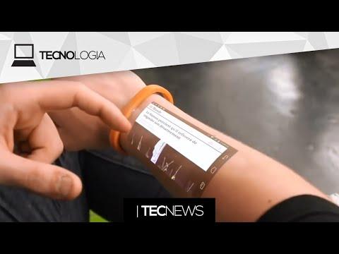 Pulseira com projetor p/ usar o smartphone no braço / Mais um problema no iPhone 6 | TecNews de YouTube · Alta definición · Duración:  2 minutos 39 segundos  · Más de 147.000 vistas · cargado el 03.12.2014 · cargado por TECNODIA