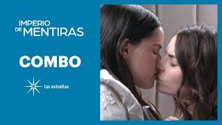 Imperio de mentiras: María José besa a Clara | C- 46 | Las Estrellas