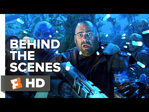 Guardians of the Galaxy Vol. 2 Behind the Scenes - Southern Nights Layered Scene (2017) | Movieclips