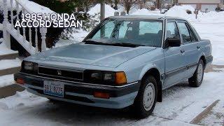 1985 Honda Accord Sedan