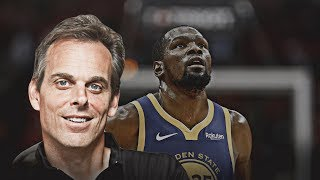 Colin Cowherd Claims Nba Veteran Told Him Kevin Durant To Knicks Is 100% Done!