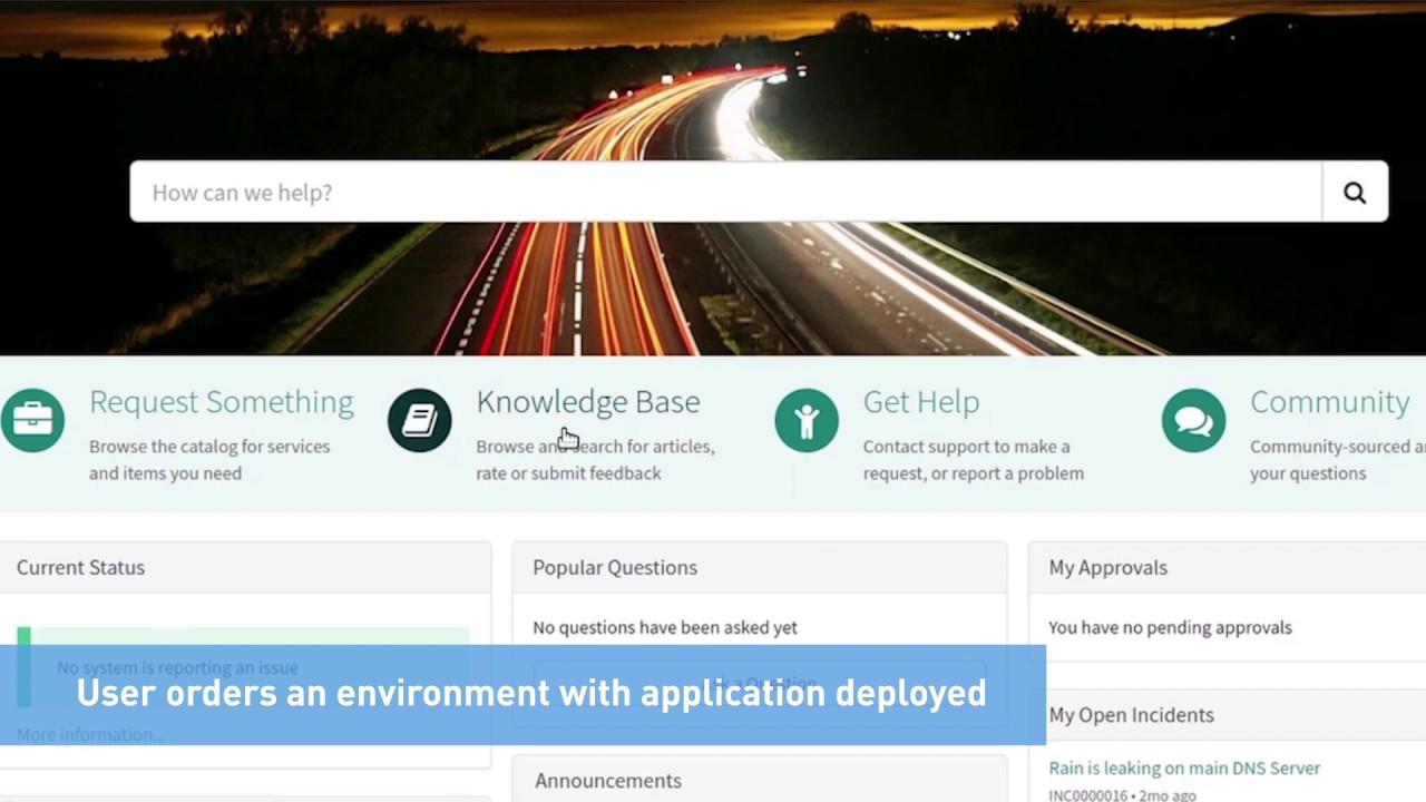 DevOps Automation using ServiceNow and RL Catalyst Integration
