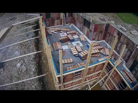 Steps to Building a Timber Frame Home Part 1: Site Preparations and Laying the Foundations