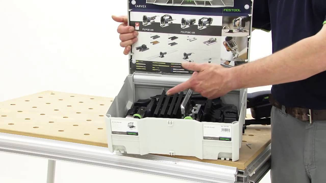 Systainer accesorios ZH-SYS-PS 420 Festool 497709