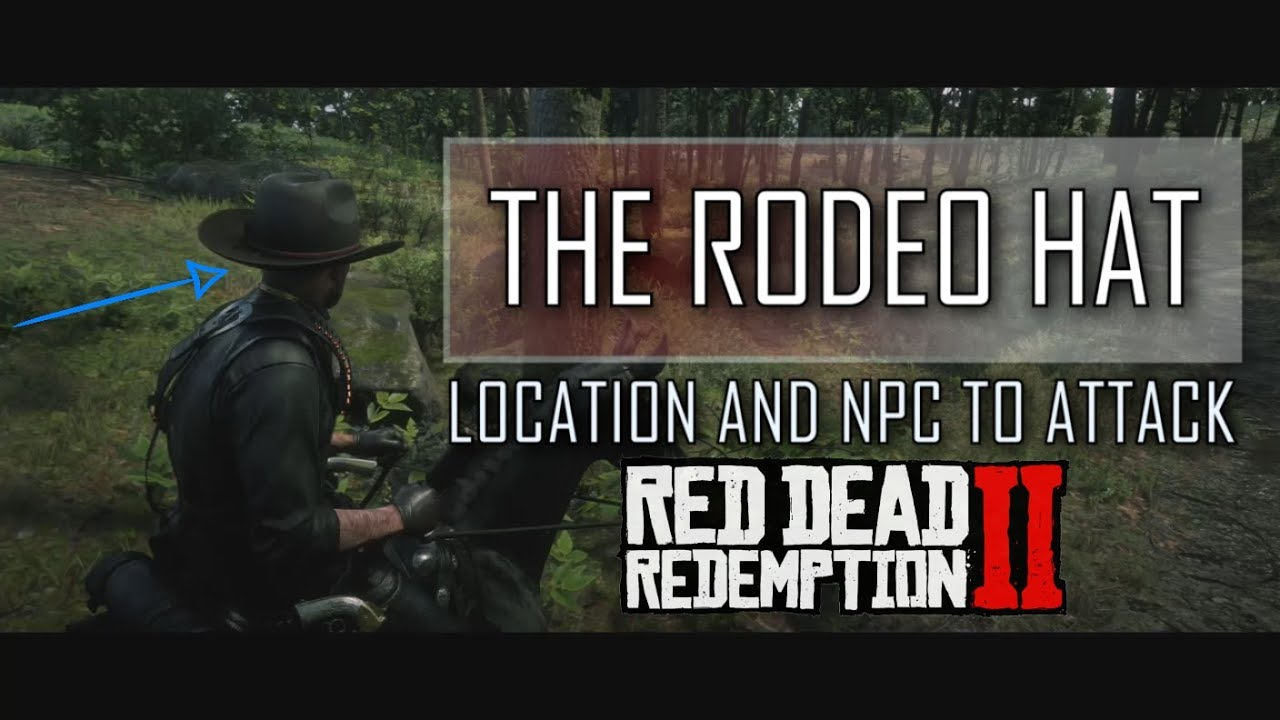 RDR2: The Unique Rodeo Hat Location in Red Dead Redemption 2