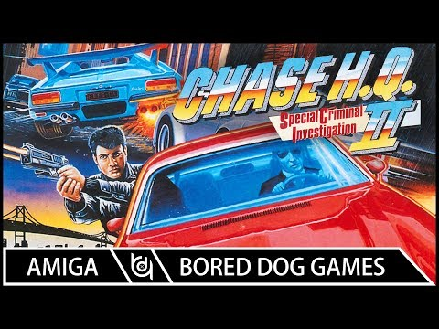 S C I  – Chase HQ II Commodore Amiga Review – Vintage is the New Old