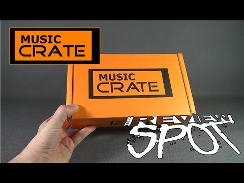 Subscription Spot - Music Crate May 2016 Subscription Box UNBOXING!